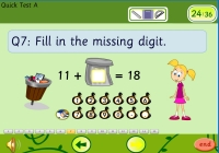 fun online educational quick test for maths