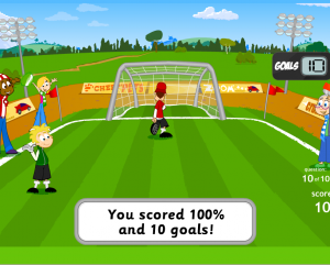 Education games foot ball mad which helps e-learning
