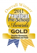 Practical Pre-School Award Winning Logo