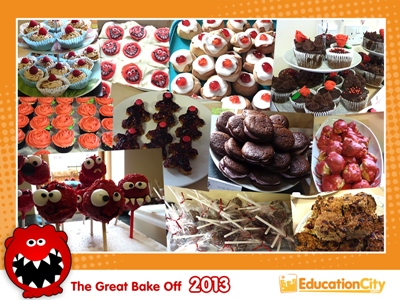 Fab cakes created by the EducationCity team