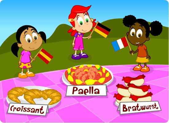European puzzle from EducationCity