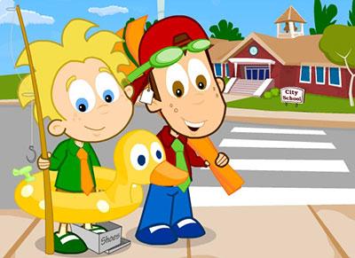 Kids blog puzzle