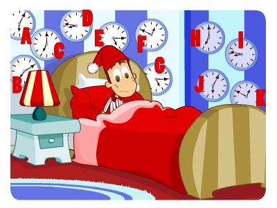 EducationCity clock puzzle as clocks go back
