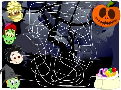 EducationCity Halloween Puzzle