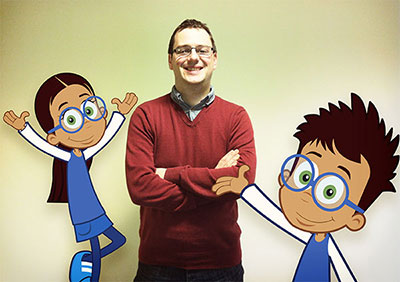 James and the computing characters