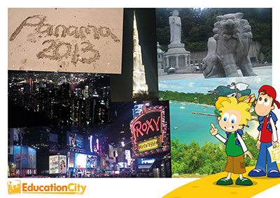 EducationCity out and about