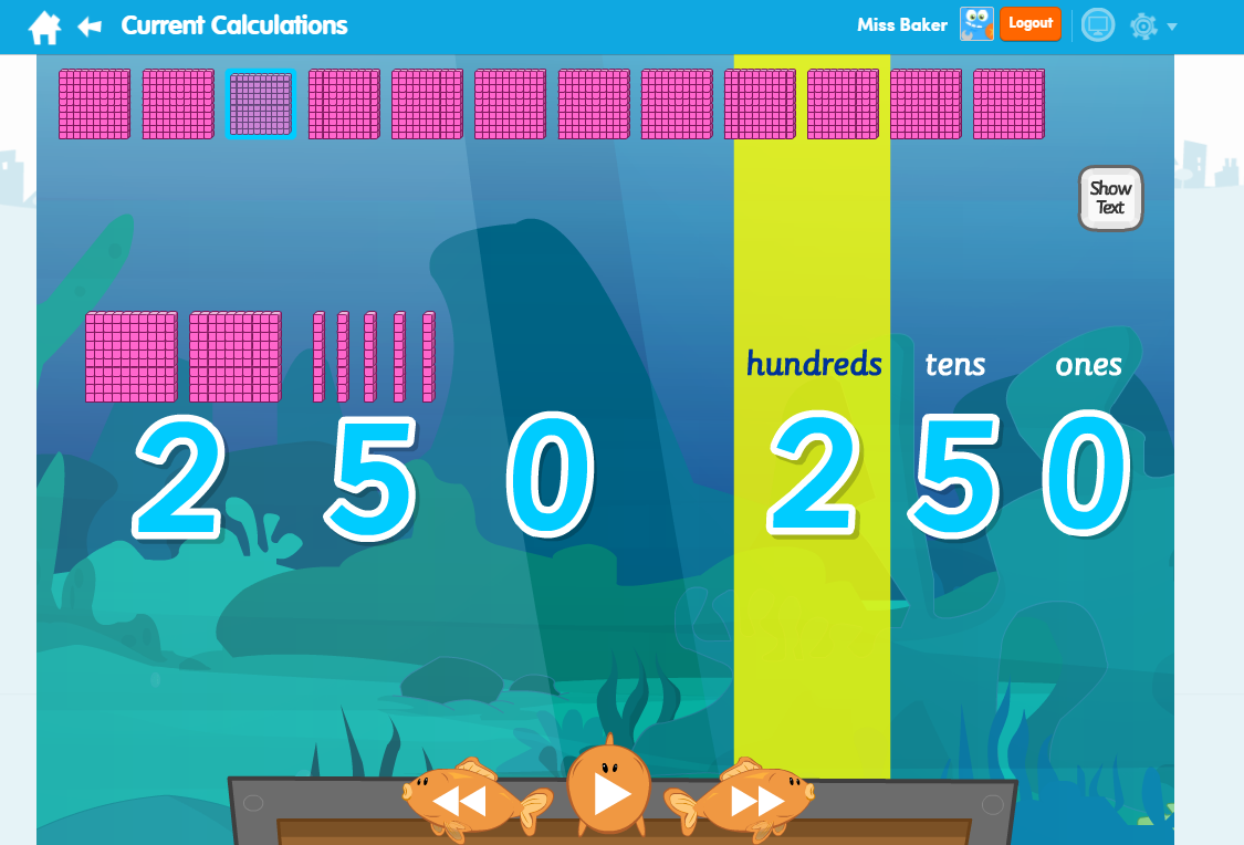 Current Calculations Maths Learn Screen