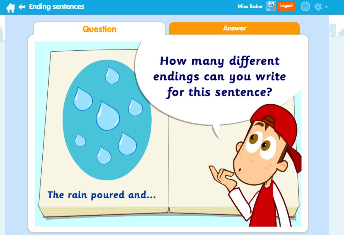 Ending Sentences English ThinkIt