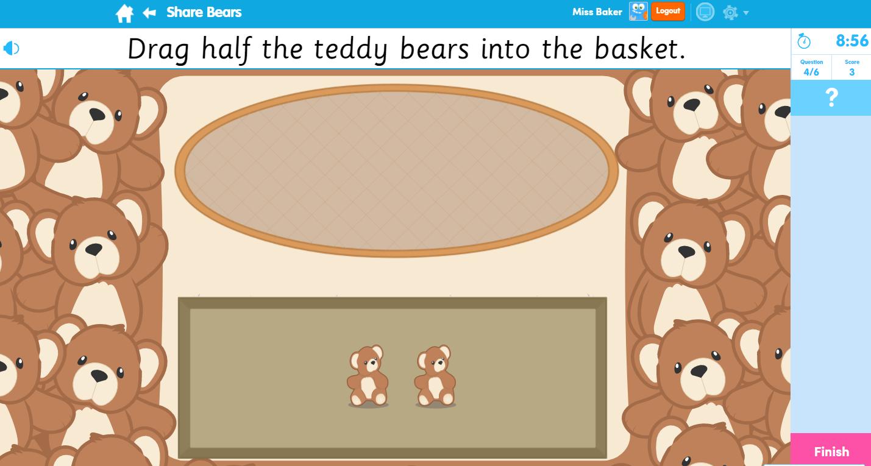 Share Bears Maths Activity