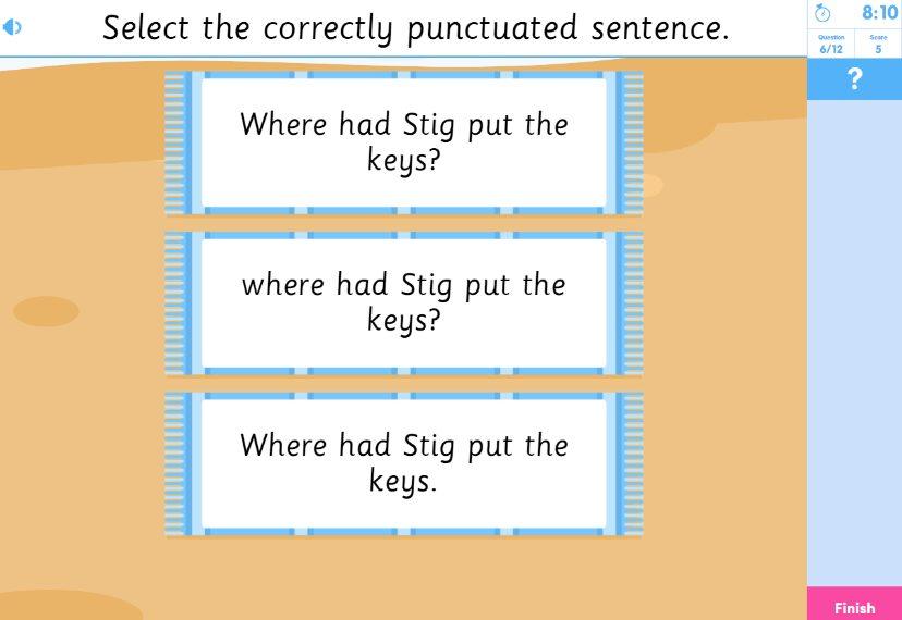 English Reading Activity