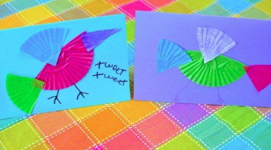 Bird Craft Card