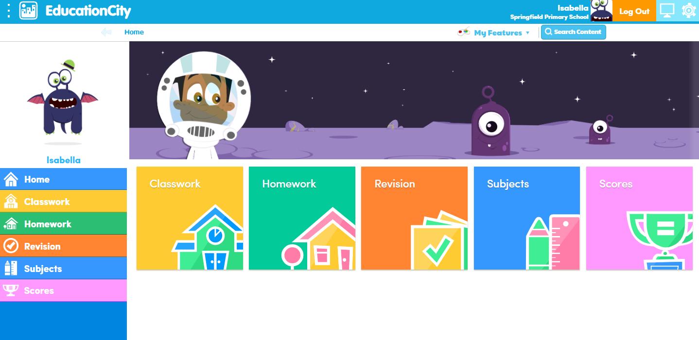 Student Homepage