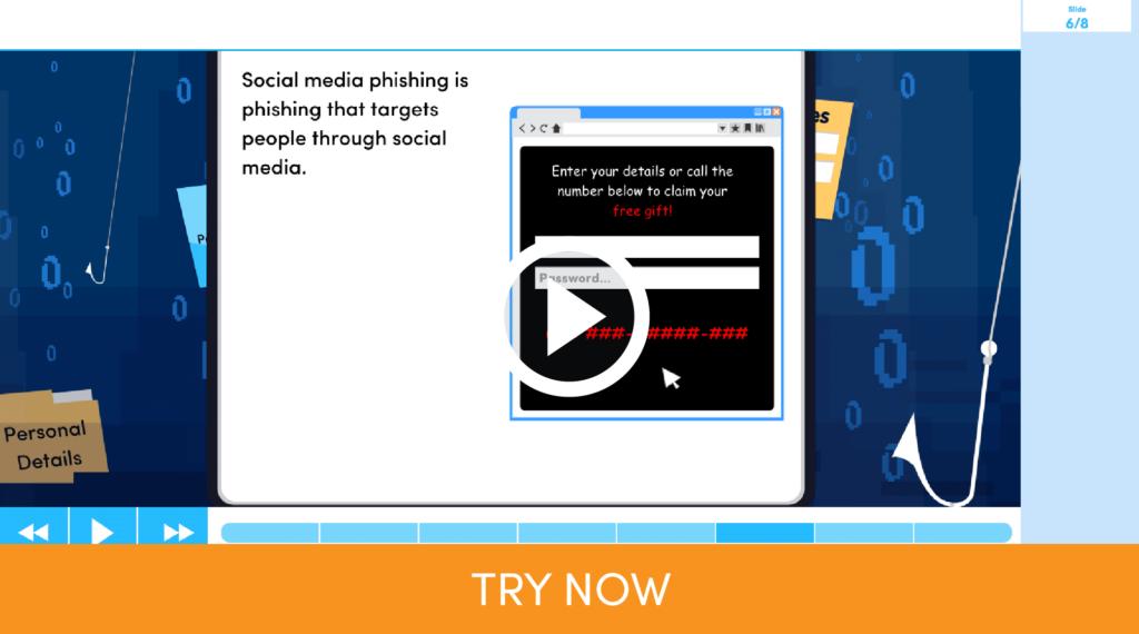 Phishing Learn Screen