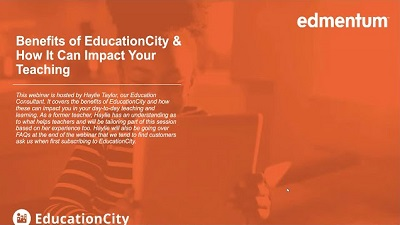 Benefits of EducationCity Webinar