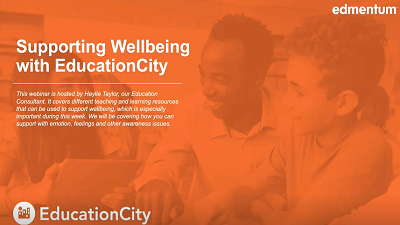Supporting Wellbeing with EducationCity